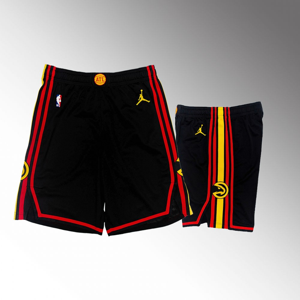Atlanta Hawks Black Statement New Season Shorts