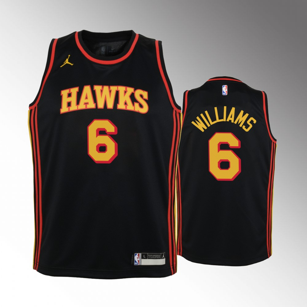 Lou Williams Atlanta Hawks Black Statement Edition Jersey