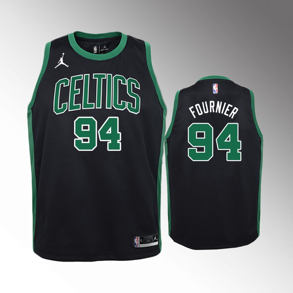 Evan Fournier Boston Celtics Black Statement Jersey