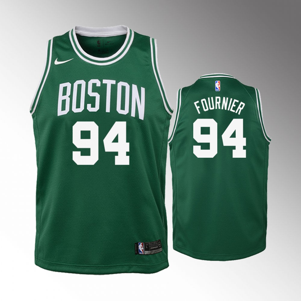 Evan Fournier Boston Celtics Green Icon Jersey