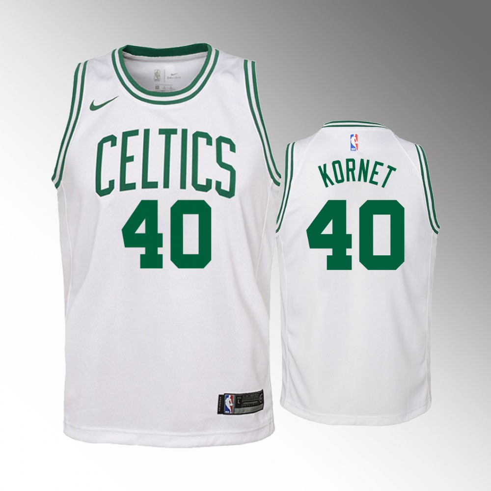 Luke Kornet Boston Celtics White Association Jersey