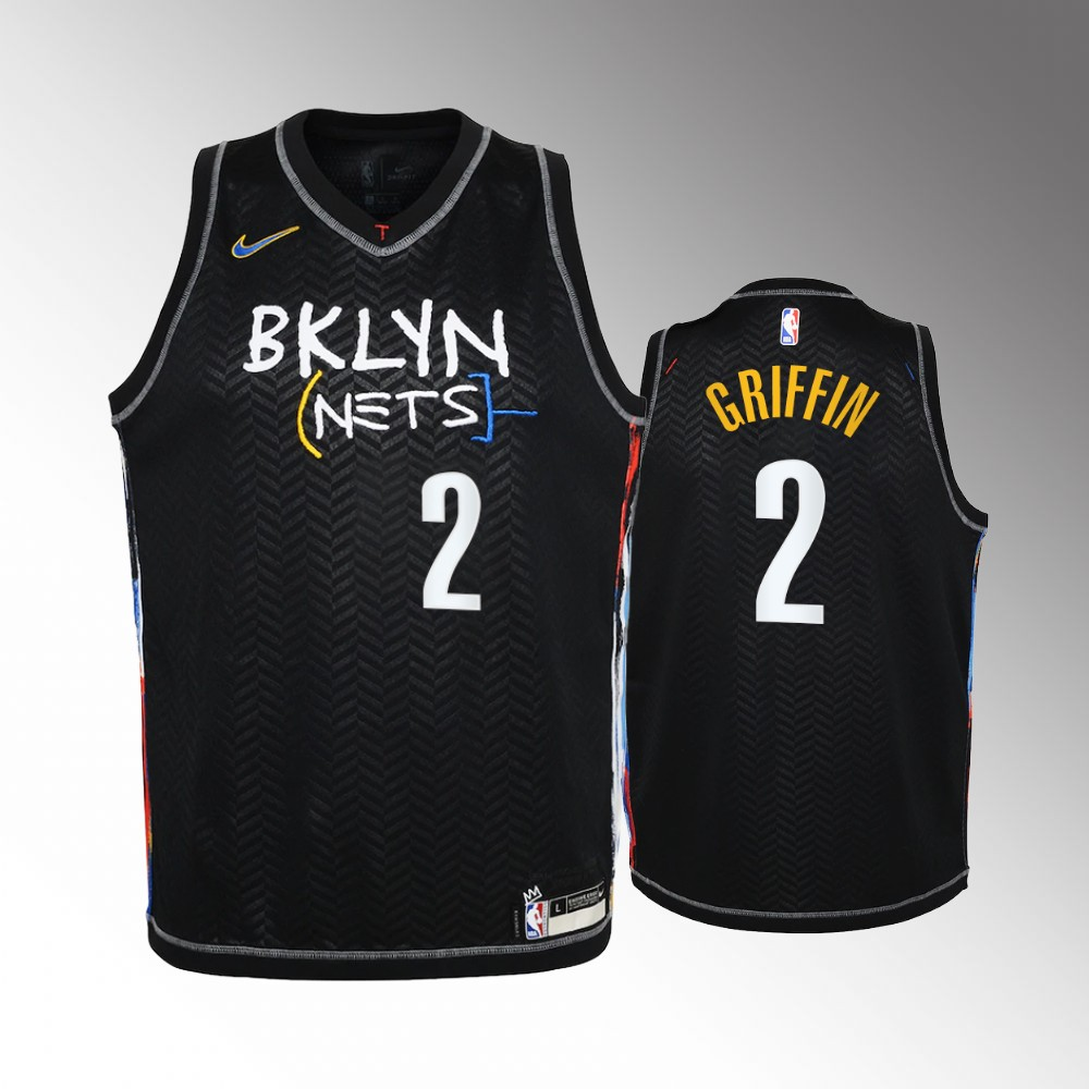 Blake Griffin Brooklyn Nets Black City Edition Jersey