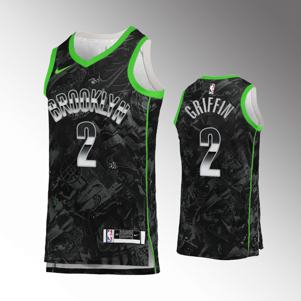 Blake Griffin Brooklyn Nets Black Select Series Jersey