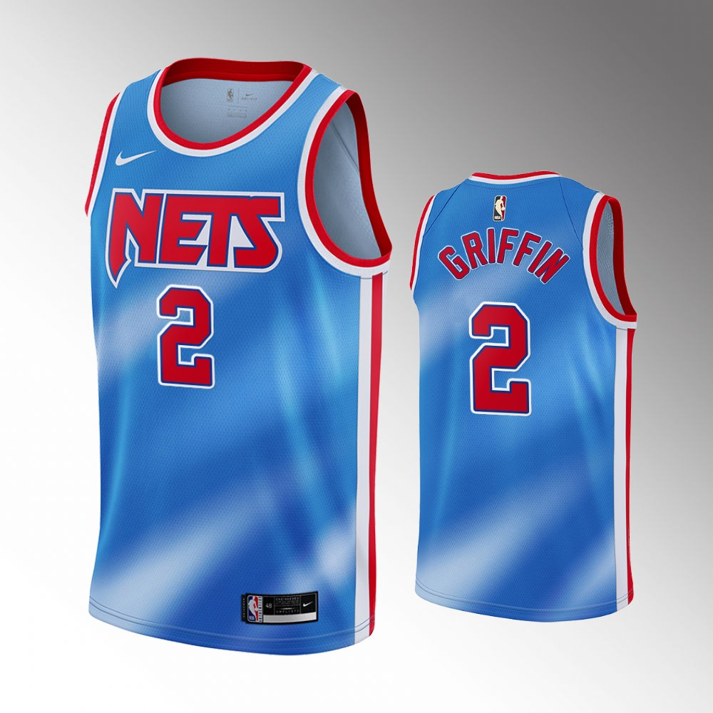 Blake Griffin Brooklyn Nets Blue Classic Edition Jersey