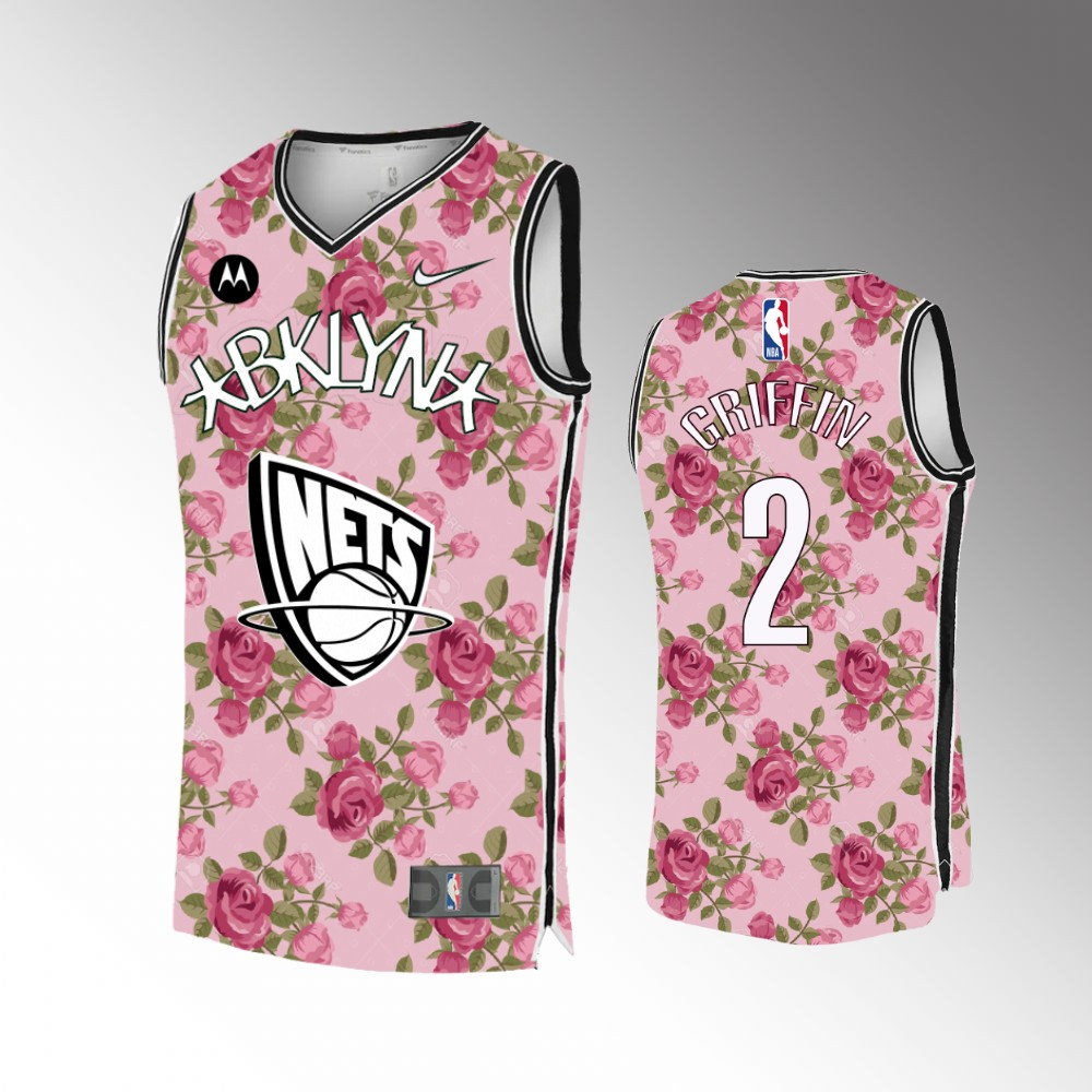 Blake Griffin Brooklyn Nets Colorful 2021 Mathers Day Jersey