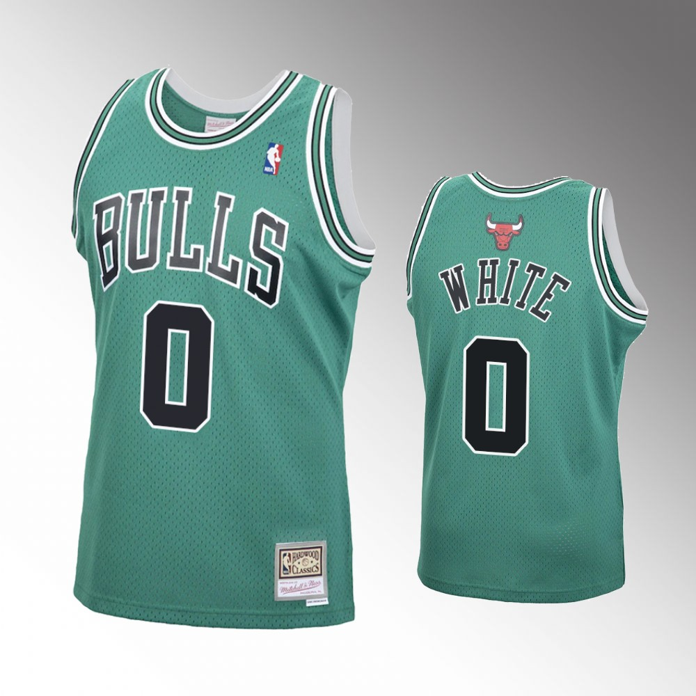 Coby White Chicago Bulls Green St. Patrick Jersey