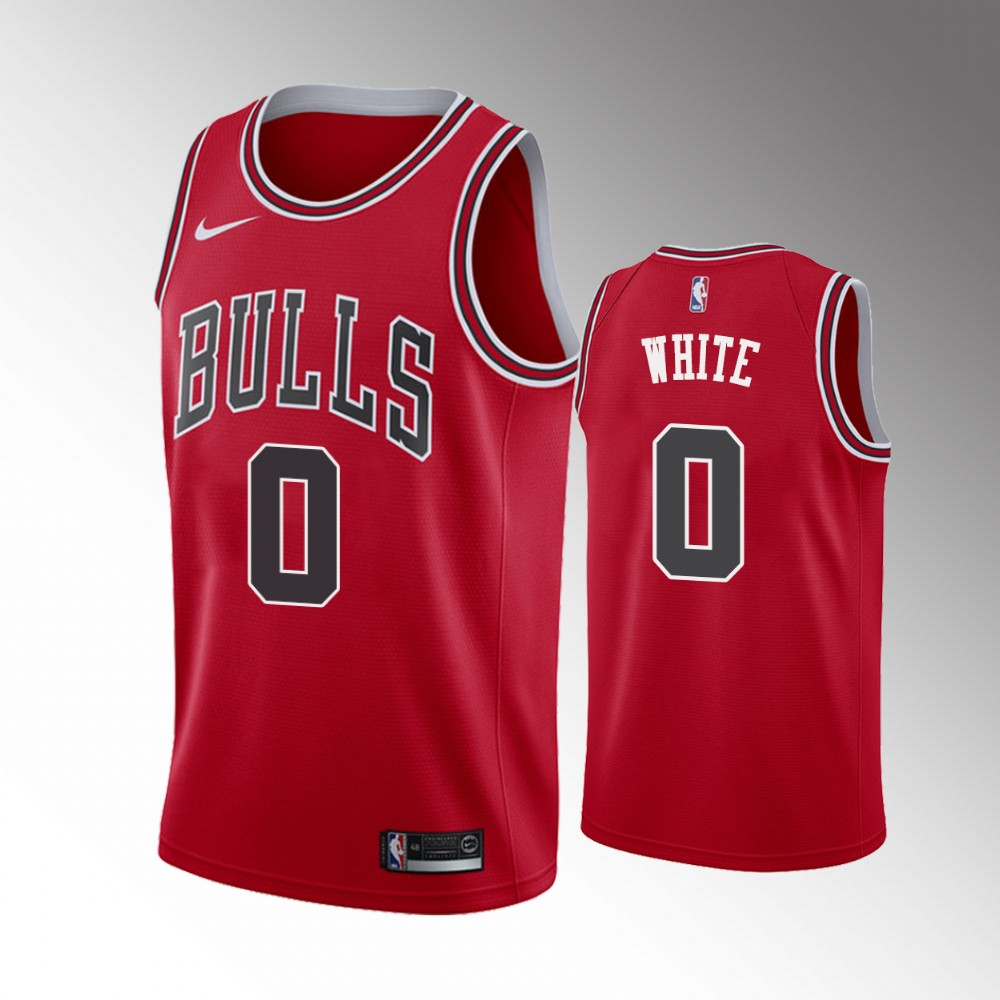 Coby White Chicago Bulls Red Icon Jersey