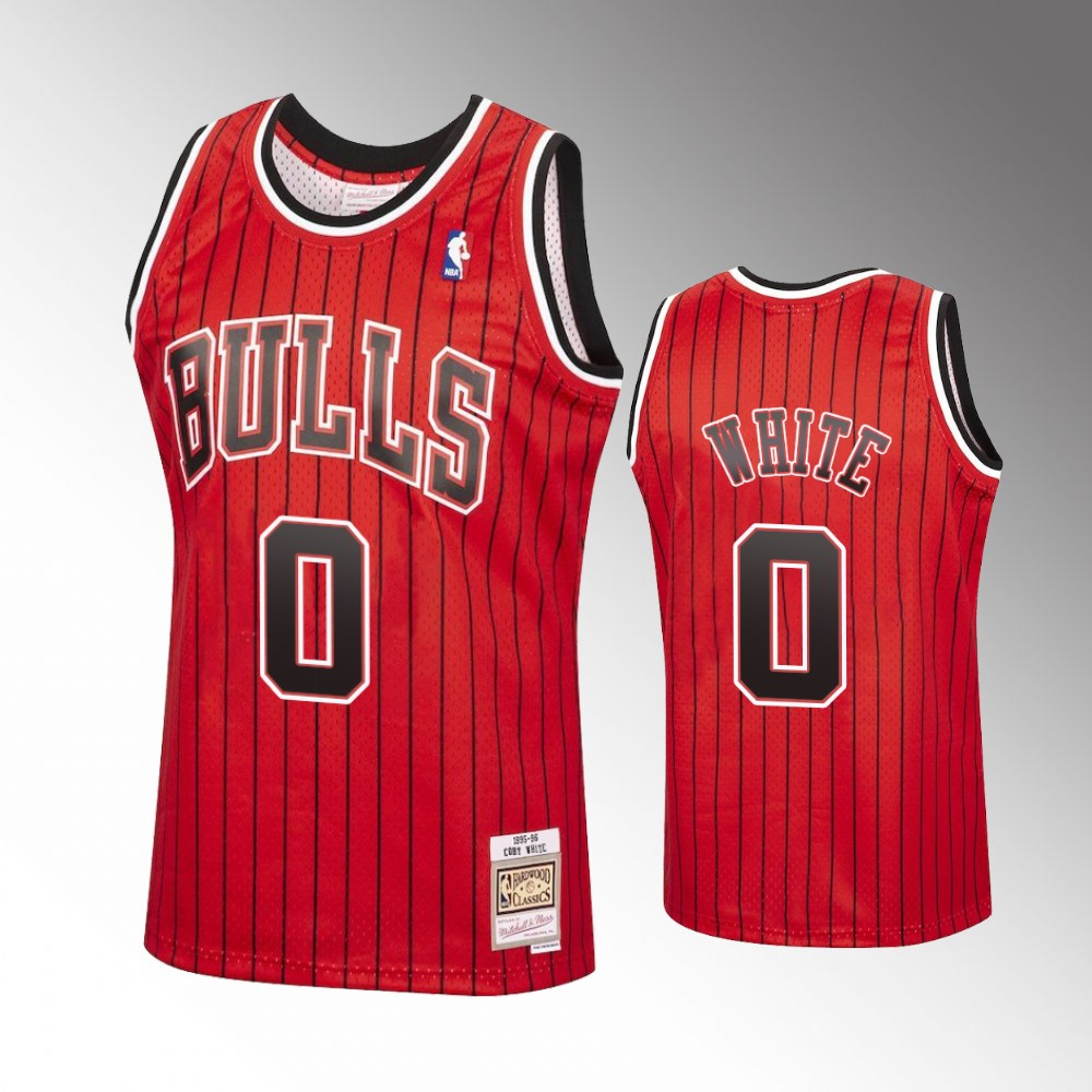 Coby White Chicago Bulls Red Reload Jersey