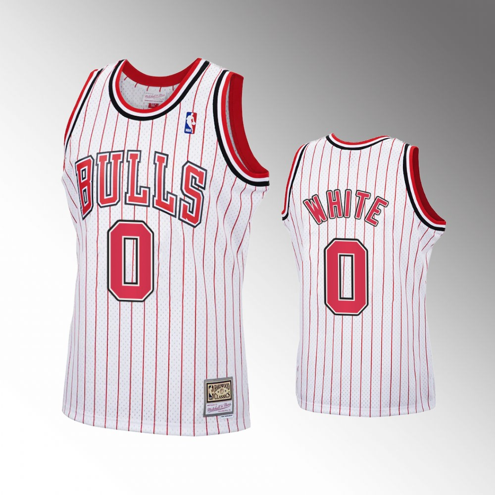 Coby White Chicago Bulls White 2020 Reload Classic Jersey