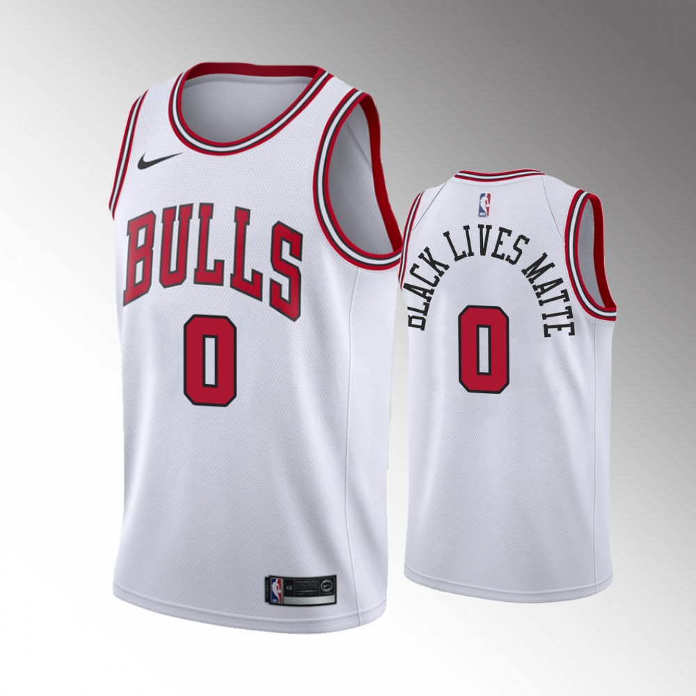 Coby White Chicago Bulls White Association Jersey