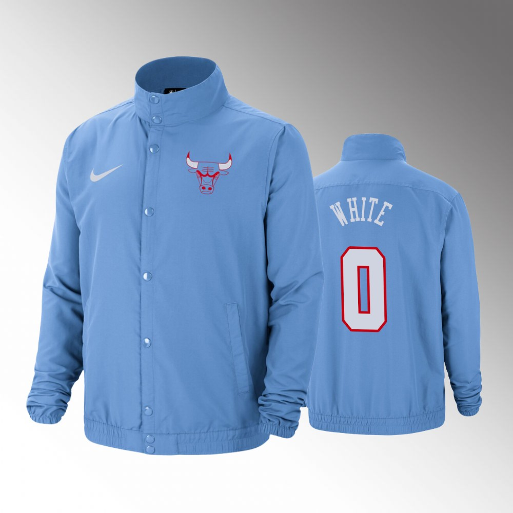 Chicago Bulls Coby White City DNA Blue Jacket