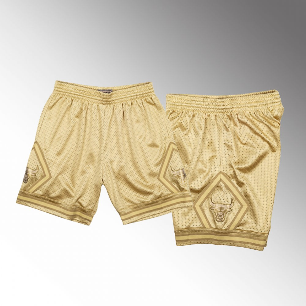 Chicago Bulls Gold Midas SM Shorts