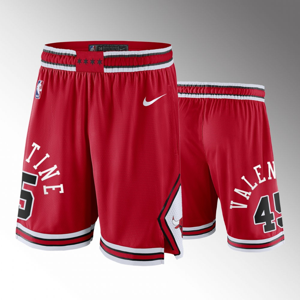 Chicago Bulls Red Icon Shorts