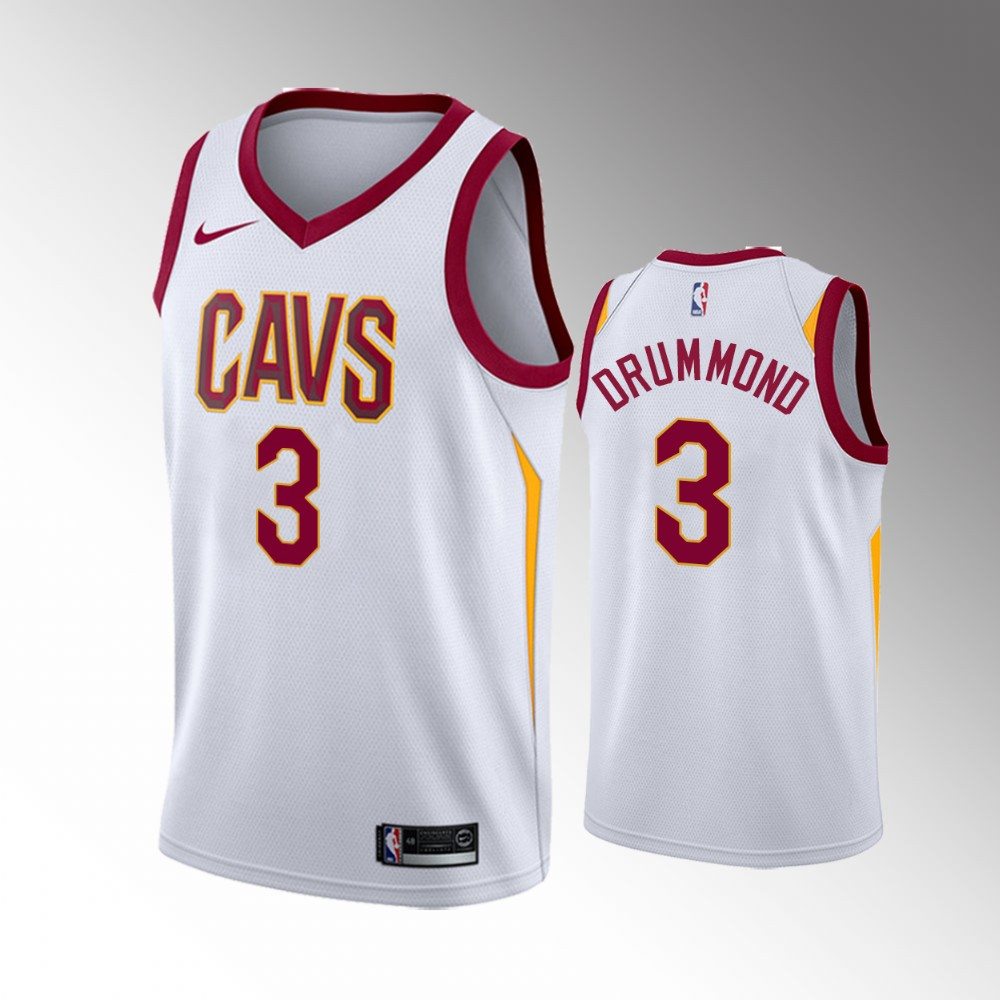 Cleveland Cavaliers White Andre Drummond Jersey - Association