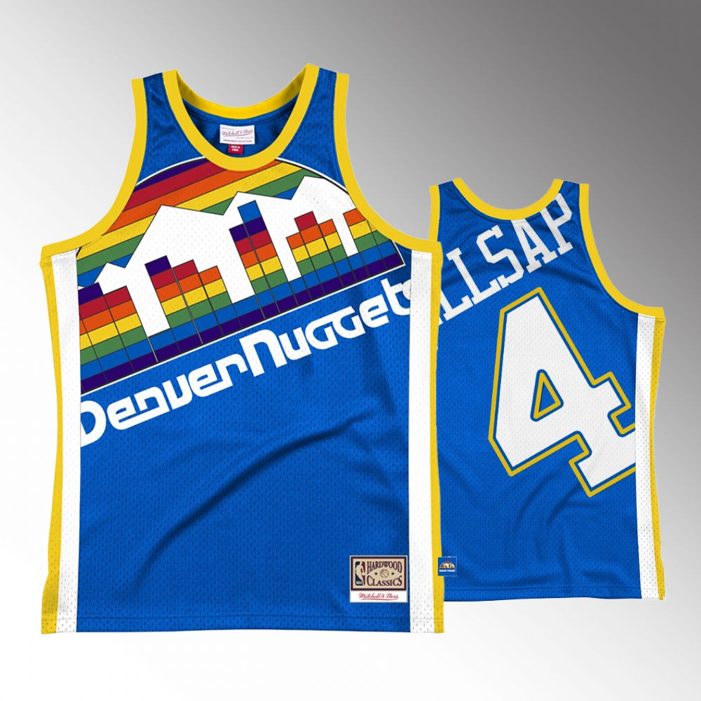 Paul Millsap Denver Nuggets Royal Big Face2.0 Jersey