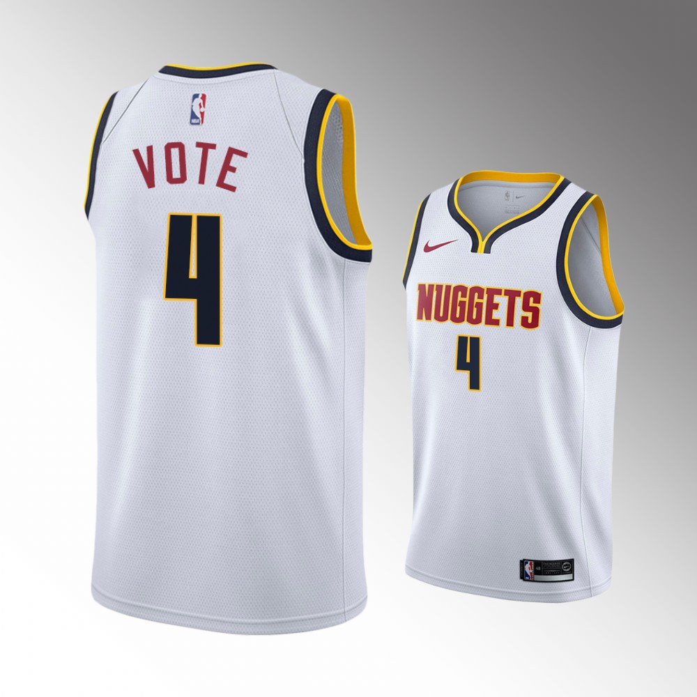 Paul Millsap Denver Nuggets White Association Jersey