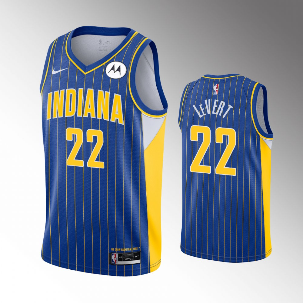 Caris LeVert Indiana Pacers Royal Blue City Edition Jersey