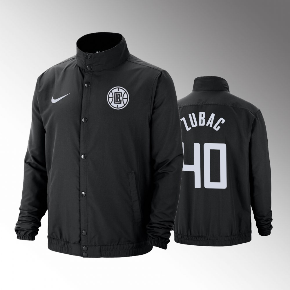 Los Angeles Clippers Ivica Zubac City DNA Black Jacket