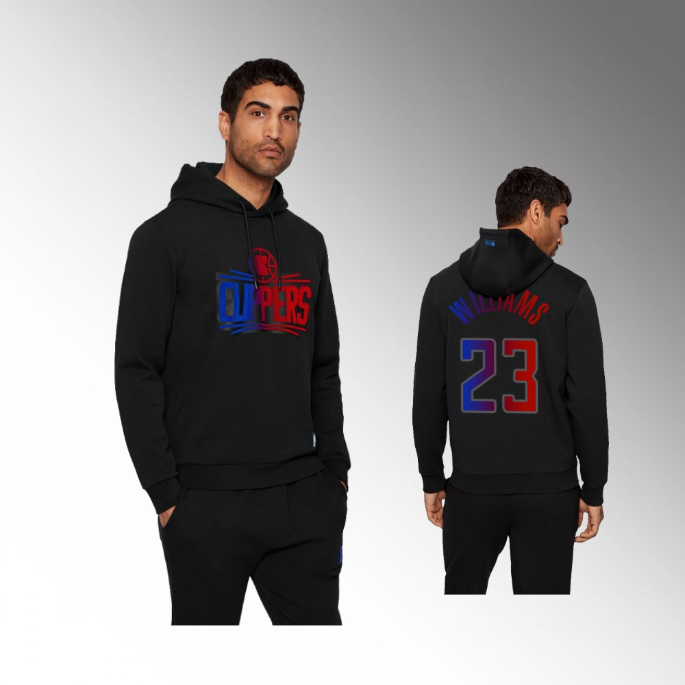 Lou Williams Los Angeles Clippers Black Bounce NBA x Hugo Boss Hoodie