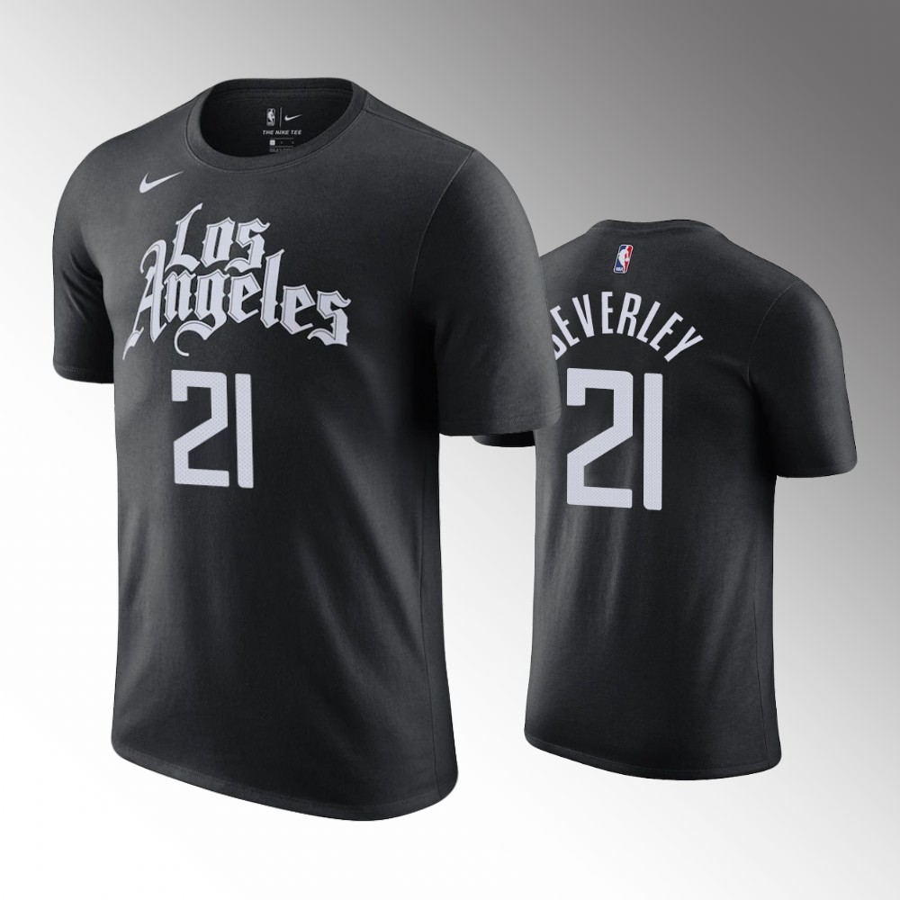 Patrick Beverley Los Angeles Clippers City Black T-Shirt