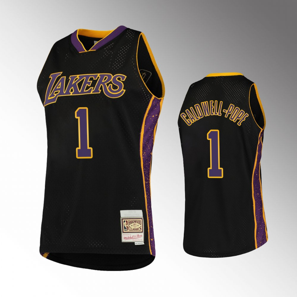 Kentavious Caldwell-Pope Los Angeles Lakers Black Rings Collection Jersey