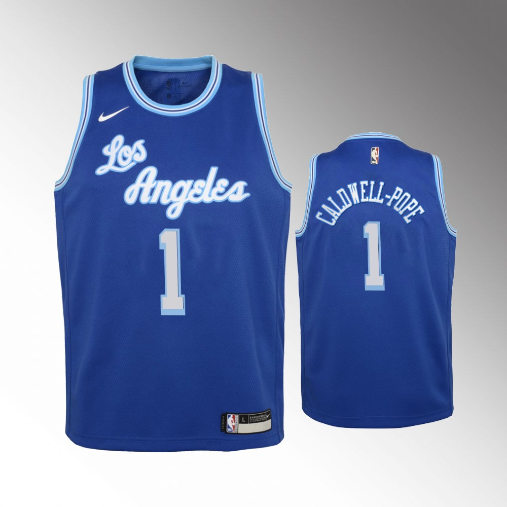 Kentavious Caldwell-Pope Los Angeles Lakers Blue Classic Edition Jersey