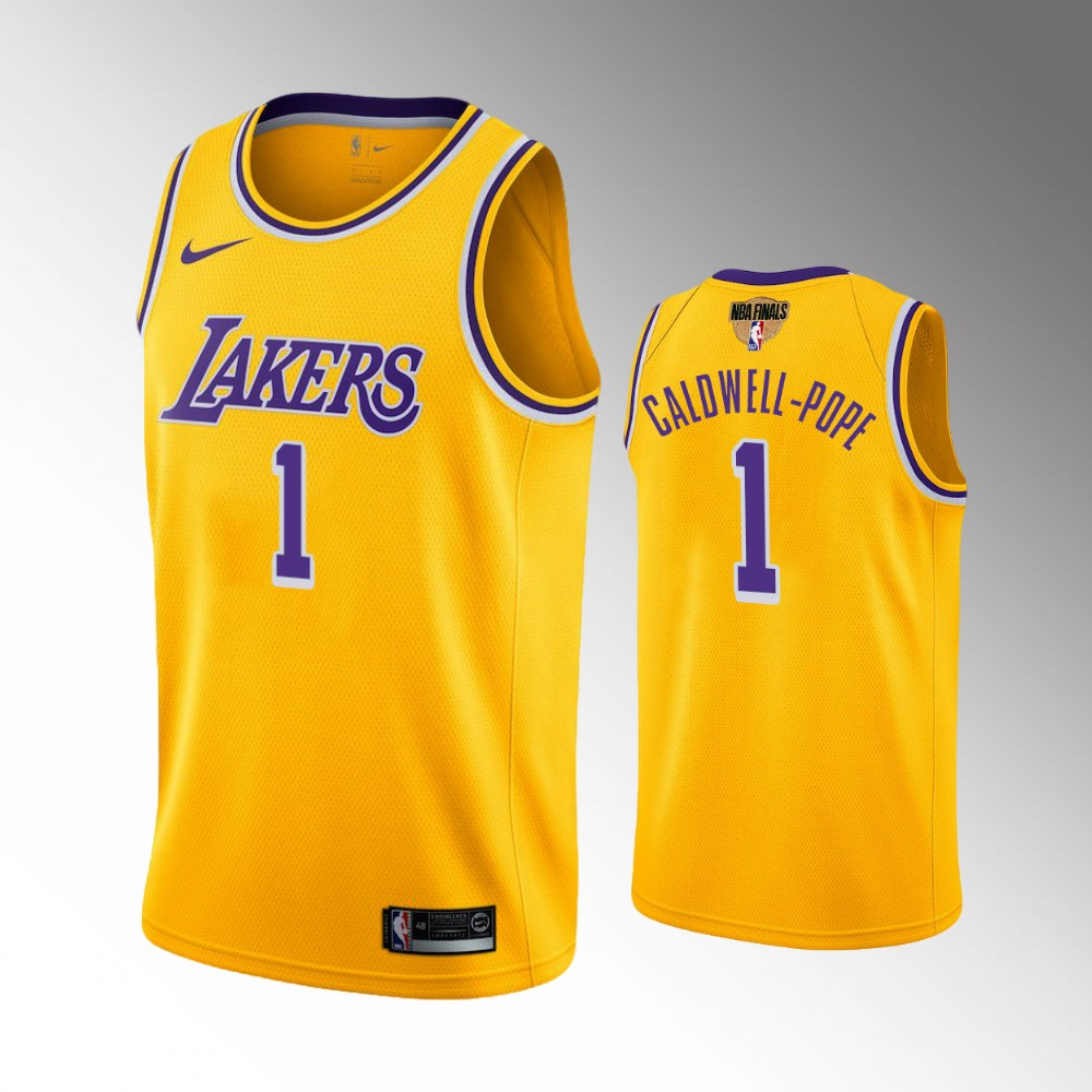 Kentavious Caldwell-Pope Los Angeles Lakers Gold 2020 NBA Finals Bound Jersey
