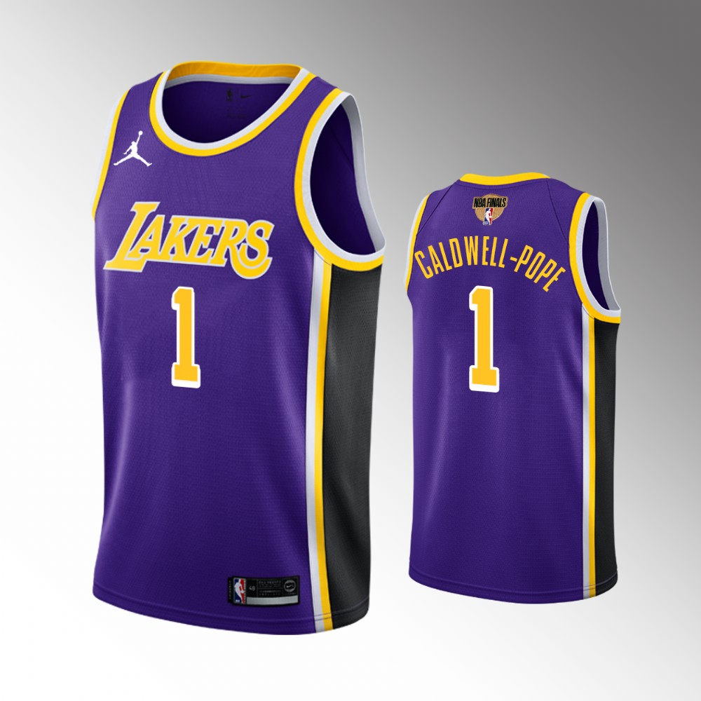 Kentavious Caldwell-Pope Los Angeles Lakers Purple 2020 NBA Finals Bound Jersey