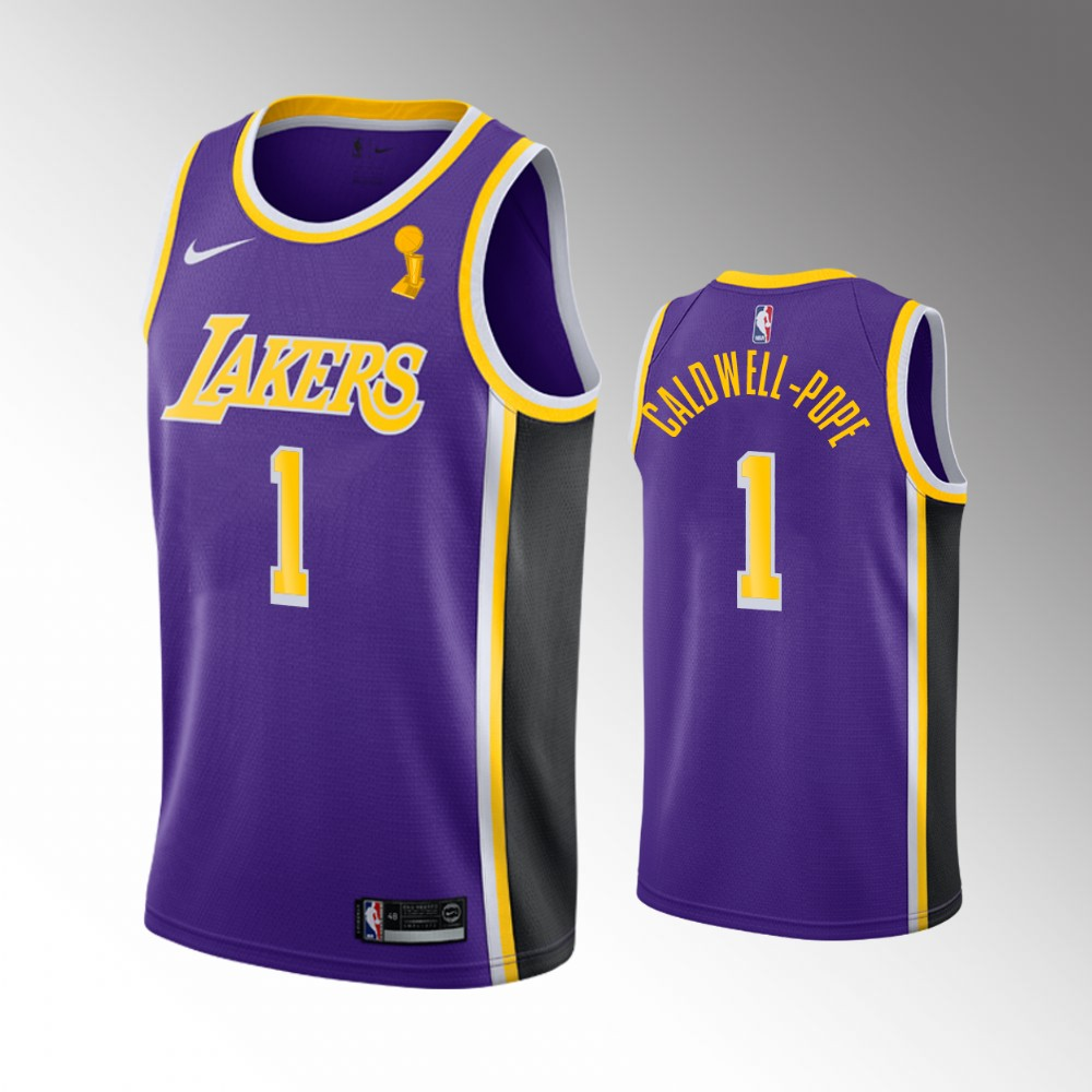 Kentavious Caldwell-Pope Los Angeles Lakers Purple 2020 NBA Finals Champions Jersey