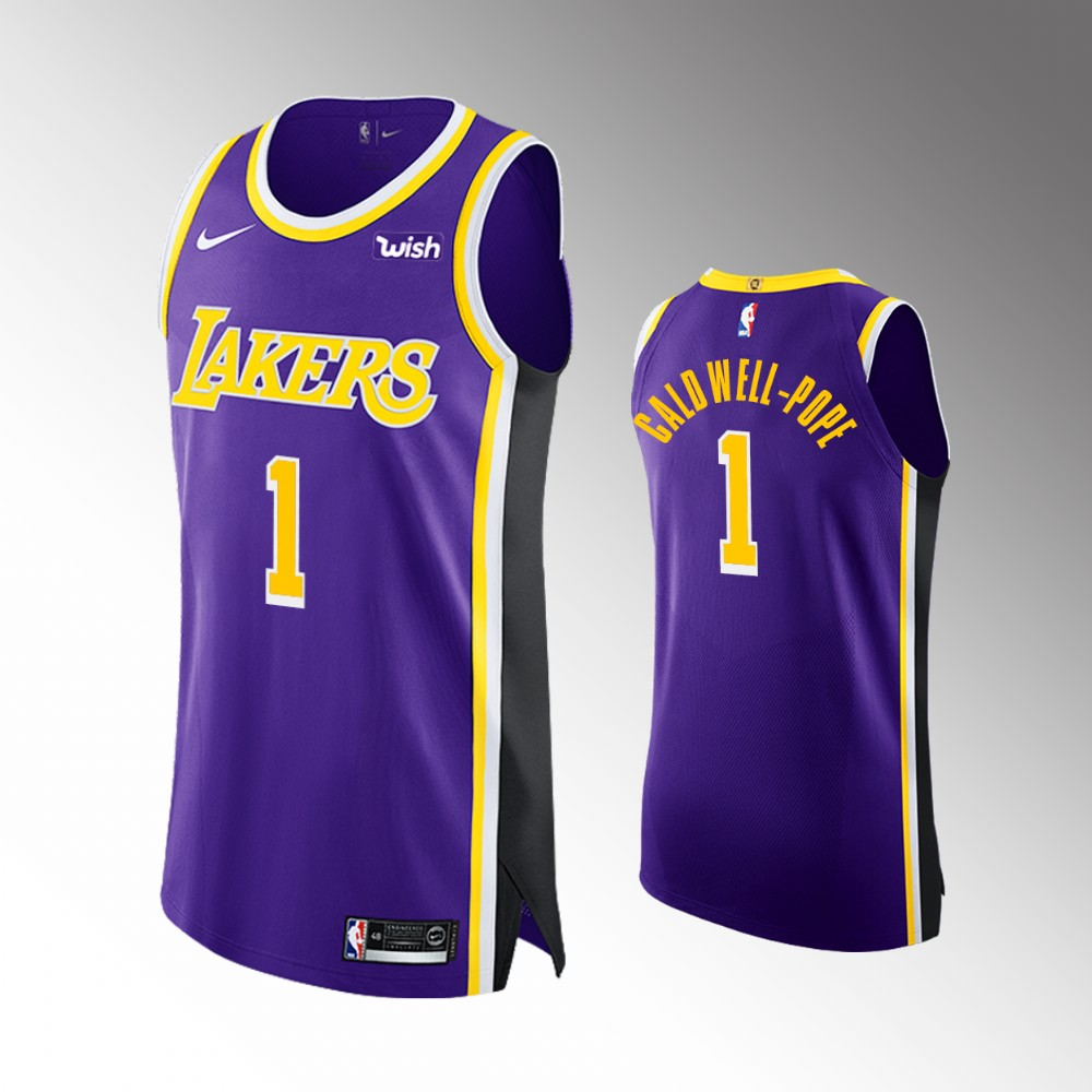 Kentavious Caldwell-Pope Los Angeles Lakers Purple Authentic Statement Edition Jersey