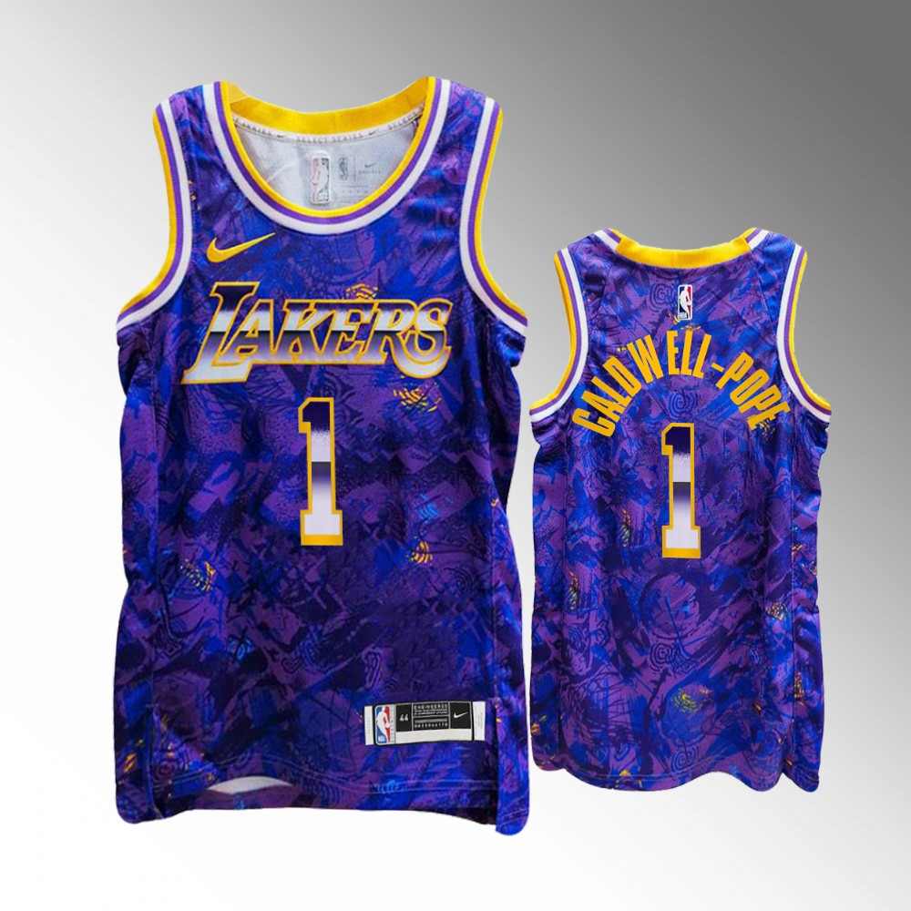 Kentavious Caldwell-Pope Los Angeles Lakers Purple Select Series Jersey