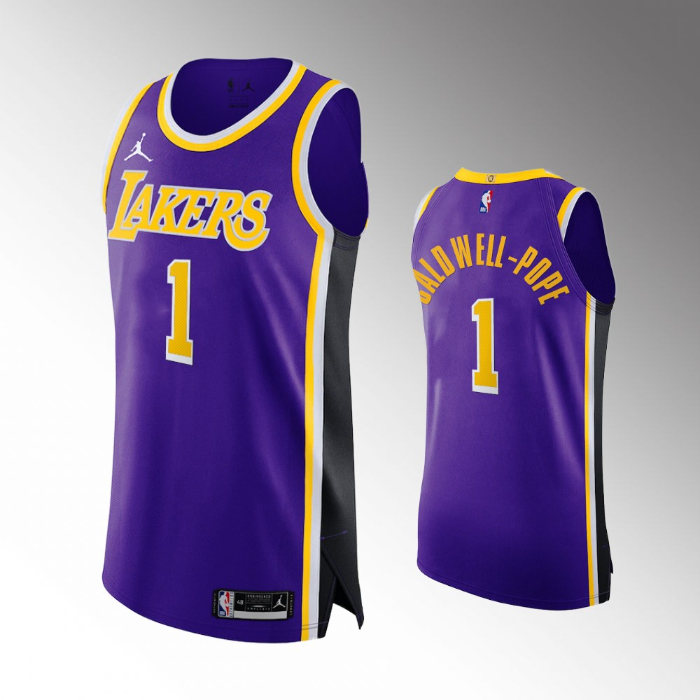 Kentavious Caldwell-Pope Los Angeles Lakers Purple Statement Authentic Jersey