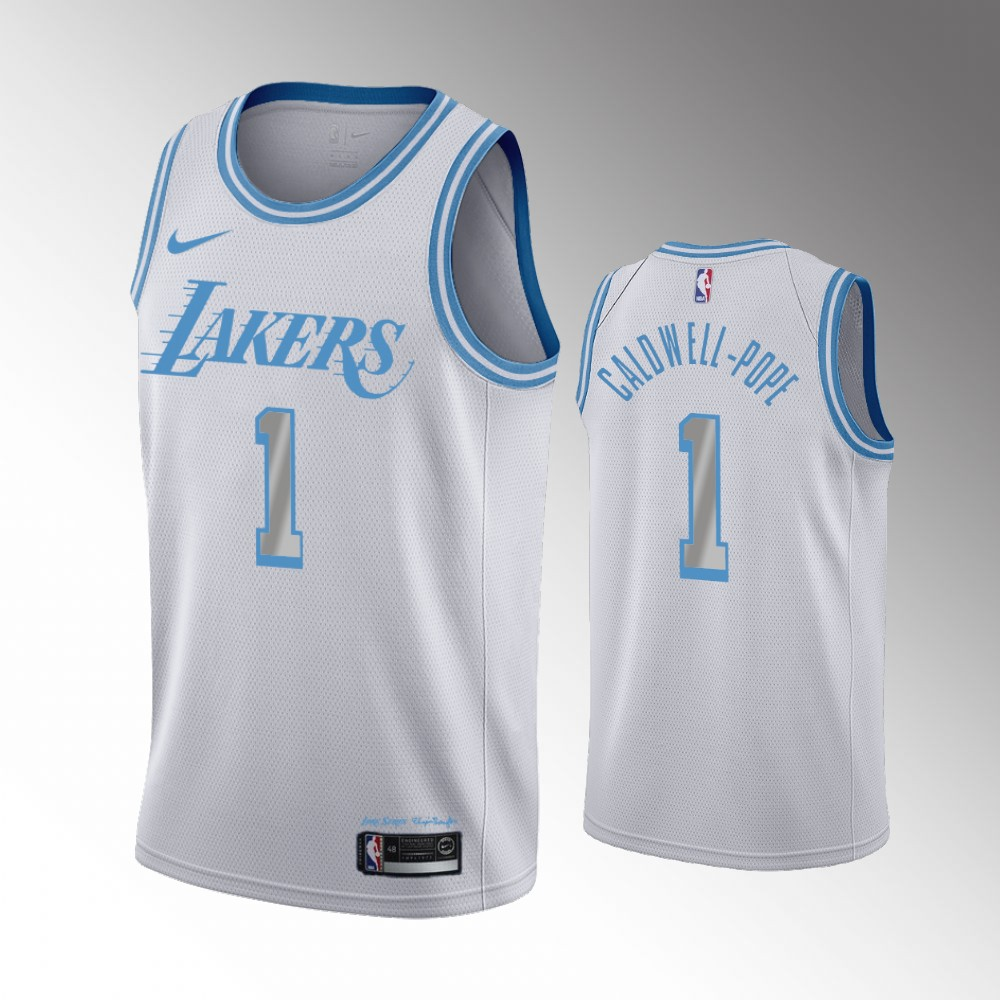 Kentavious Caldwell-Pope Los Angeles Lakers Silver City Jersey