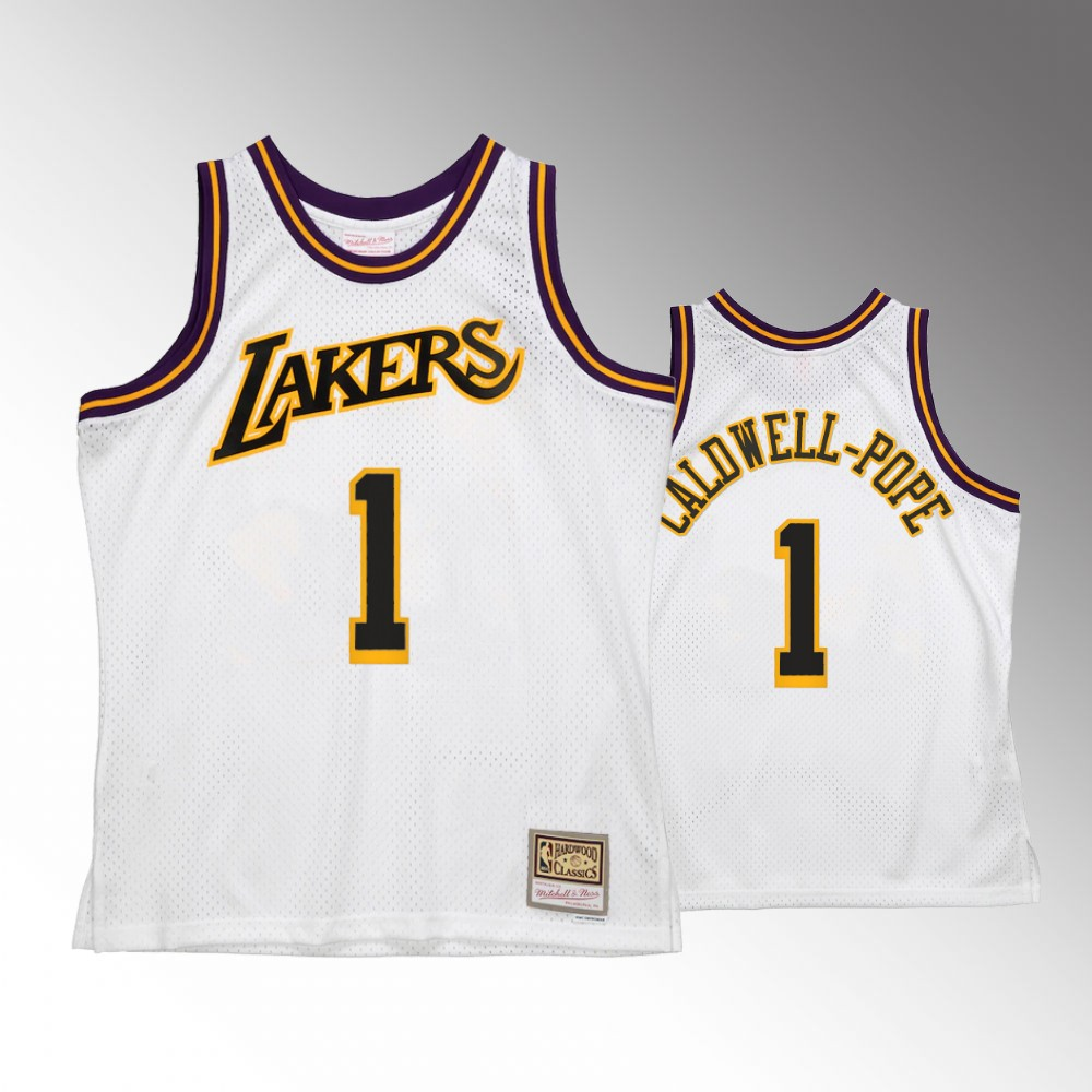 #1 Kentavious Caldwell-Pope Los Angeles Lakers White Reload 2.0 Jersey