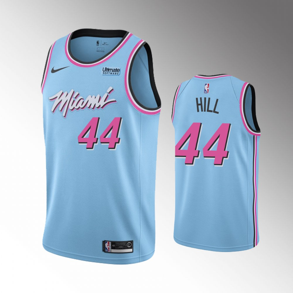 Miami Heat Blue Solomon Hill Jersey - City