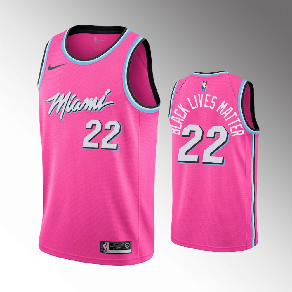 Jimmy Butler Miami Heat Pink Earned Jersey