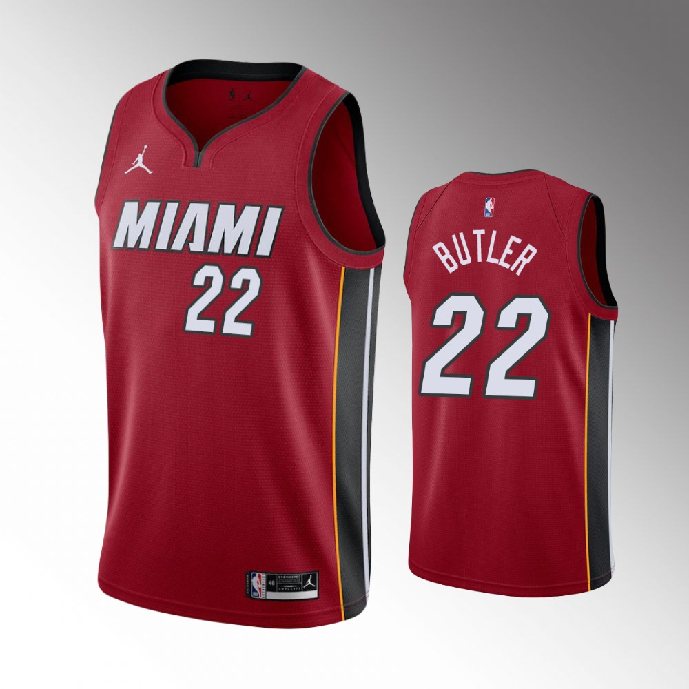 Jimmy Butler Miami Heat Red Statement Jersey