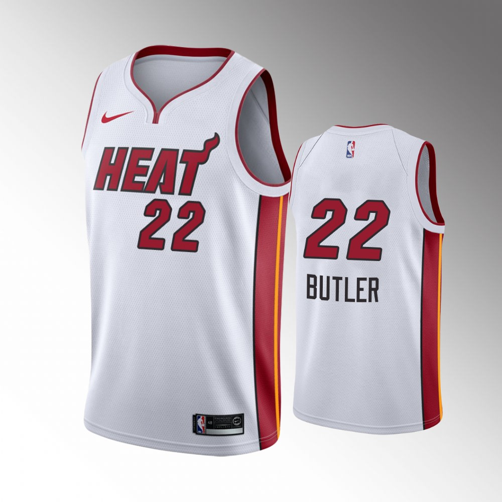 Jimmy Butler Miami Heat White 2020 Playoffs Blank Special Edition Jersey
