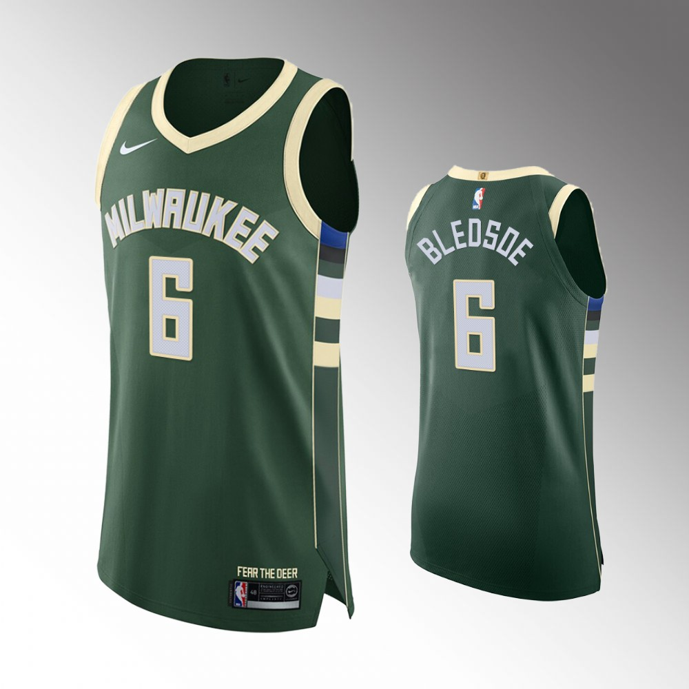 Eric Bledsoe Milwaukee Bucks Green Icon Authentic Jersey