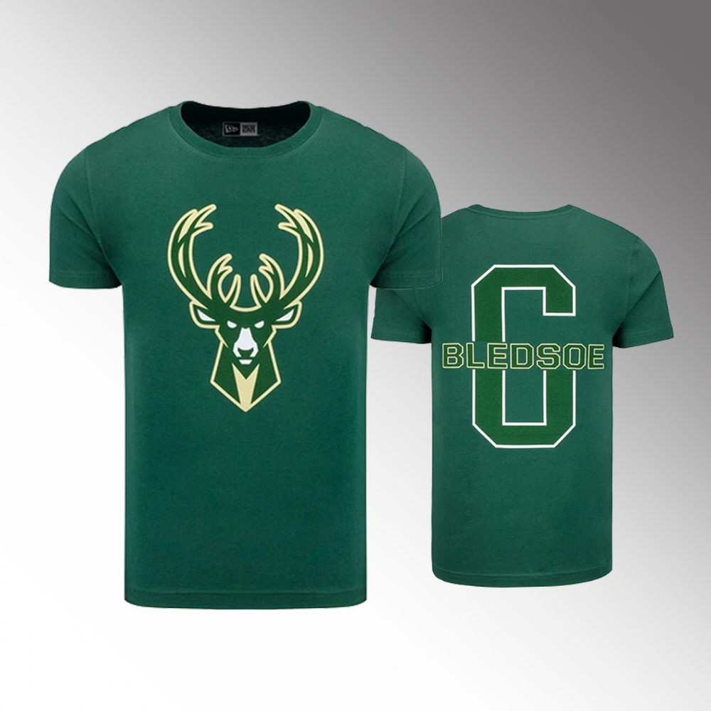 Milwaukee Bucks Player Collection Eric Bledsoe Green Icon T-Shirt