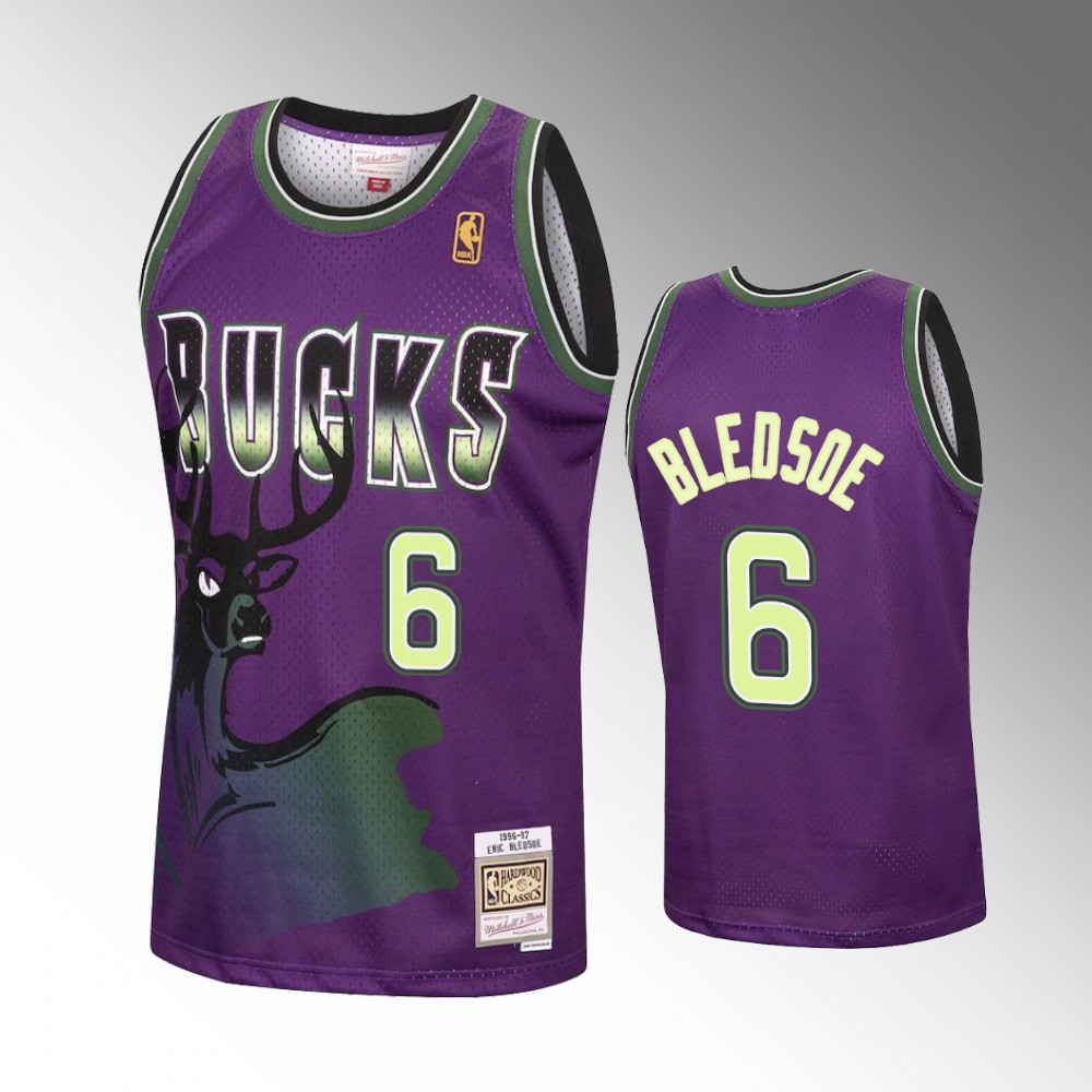 Eric Bledsoe Milwaukee Bucks Purple Reload Jersey