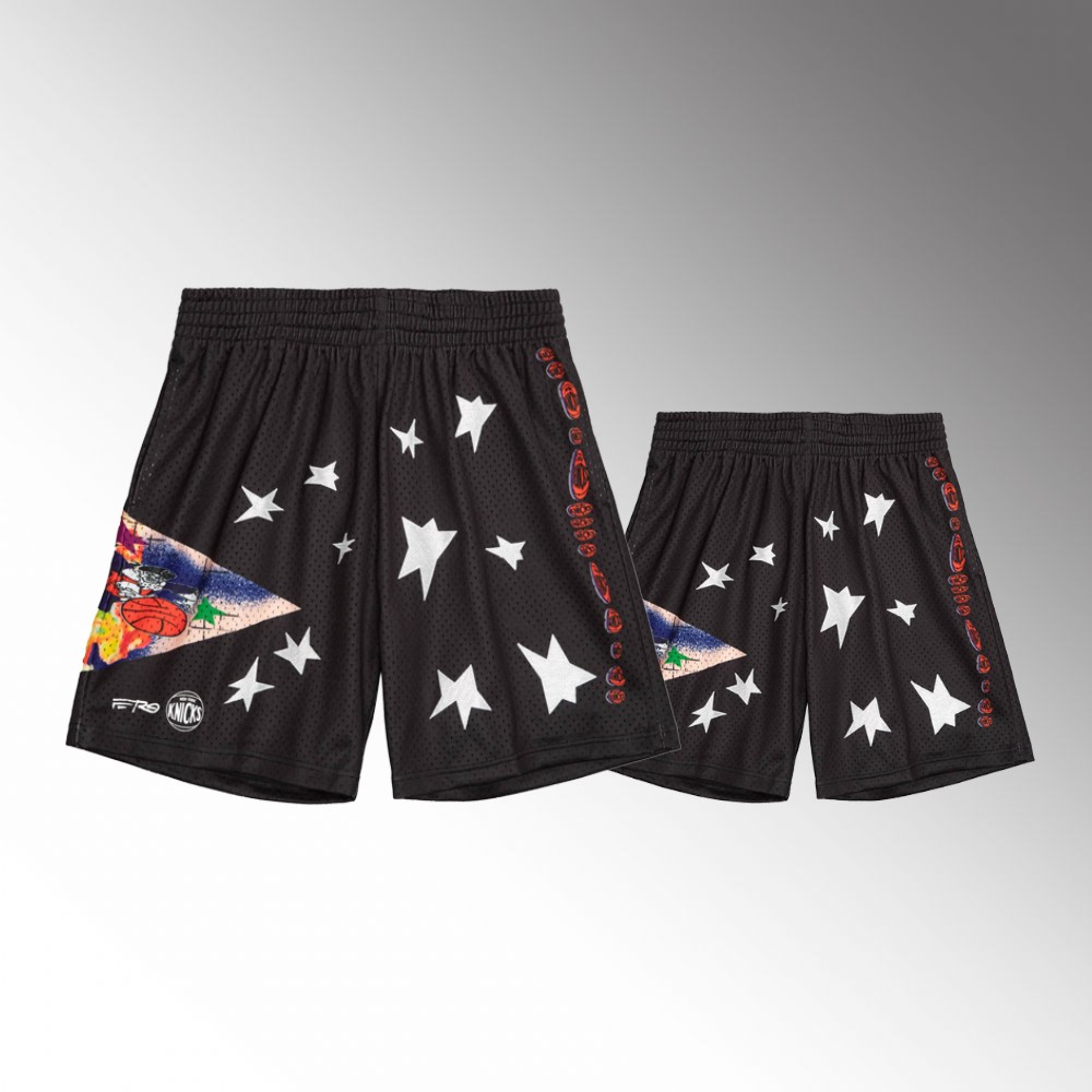 New York Knicks Black ASAP Ferg x BR Remix Shorts