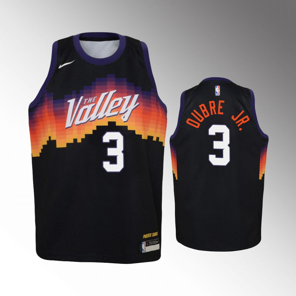 Kelly Oubre Jr. Phoenix Suns Black City Jersey