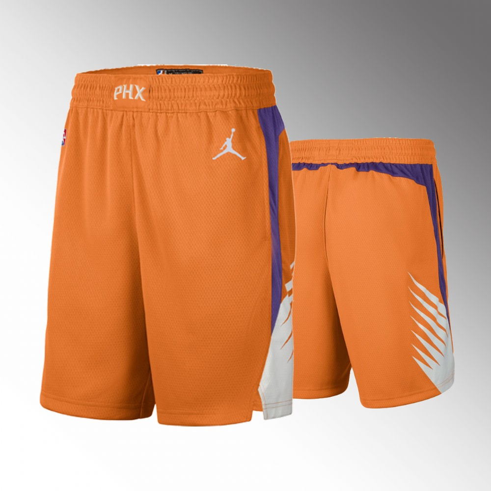 Phoenix Suns Orange Statement Shorts