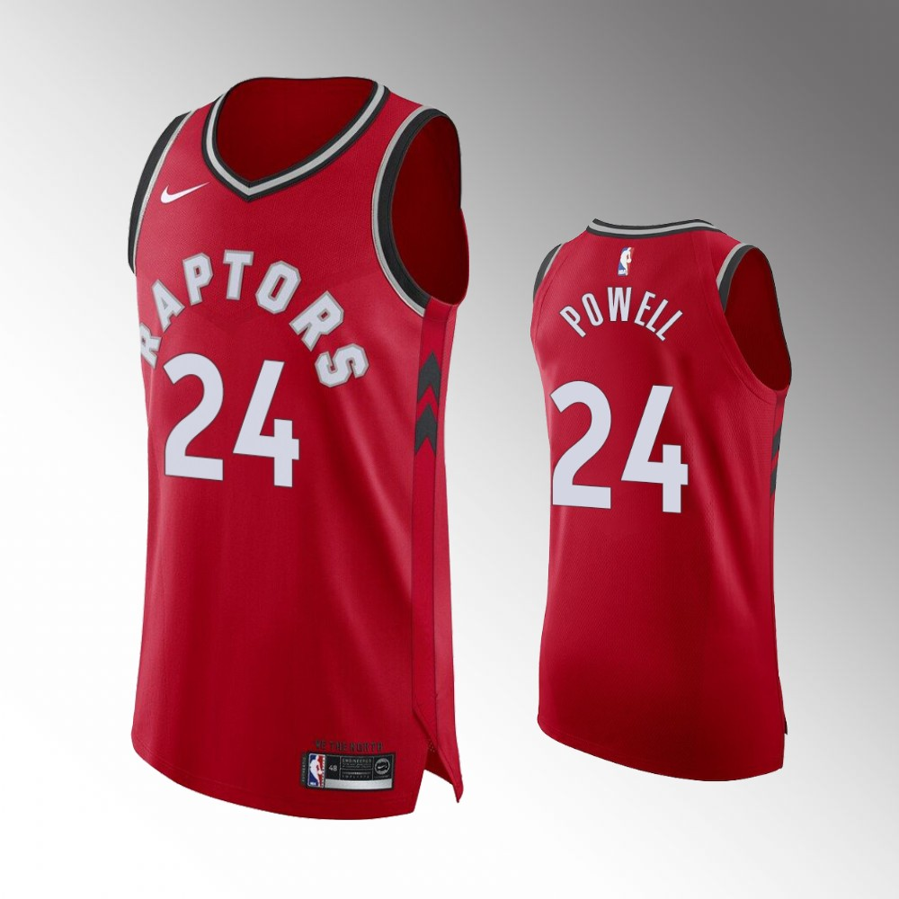 Norman Powell Toronto Raptors Red Icon Jersey