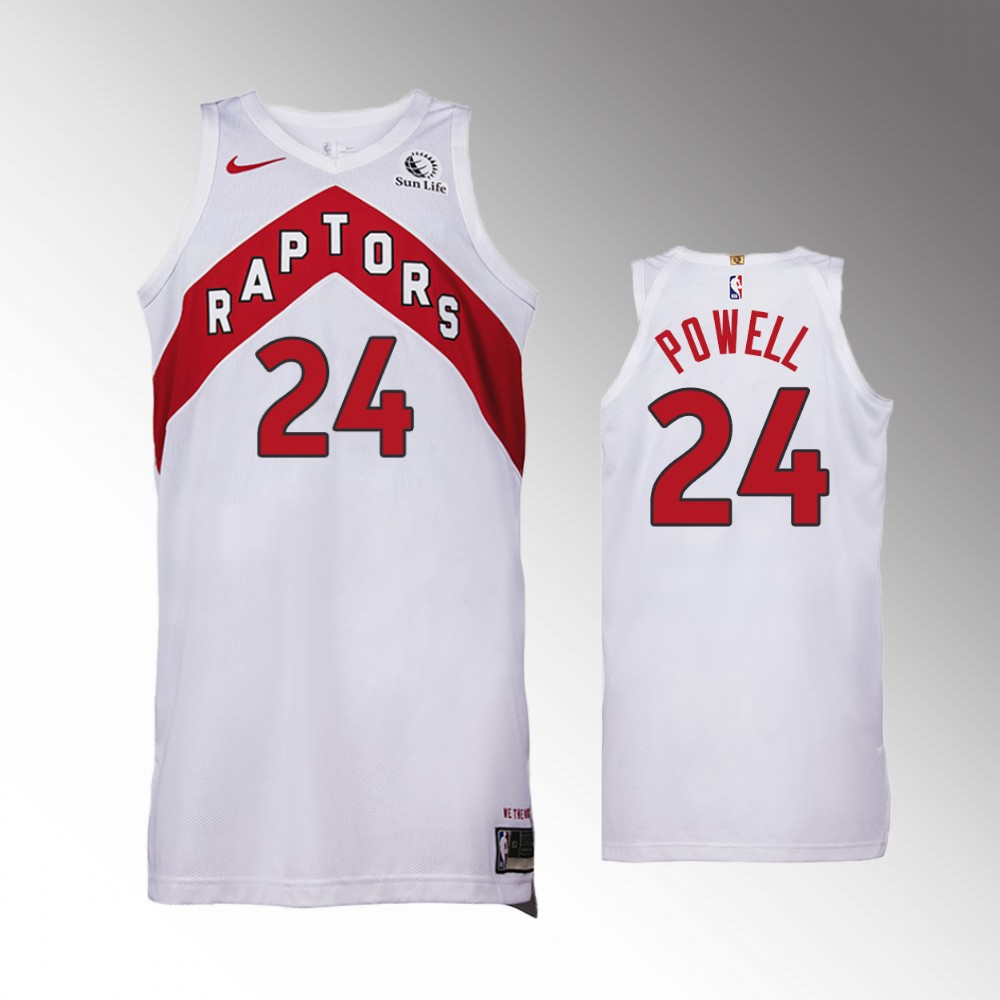 Norman Powell Toronto Raptors White Association Authentic Jersey