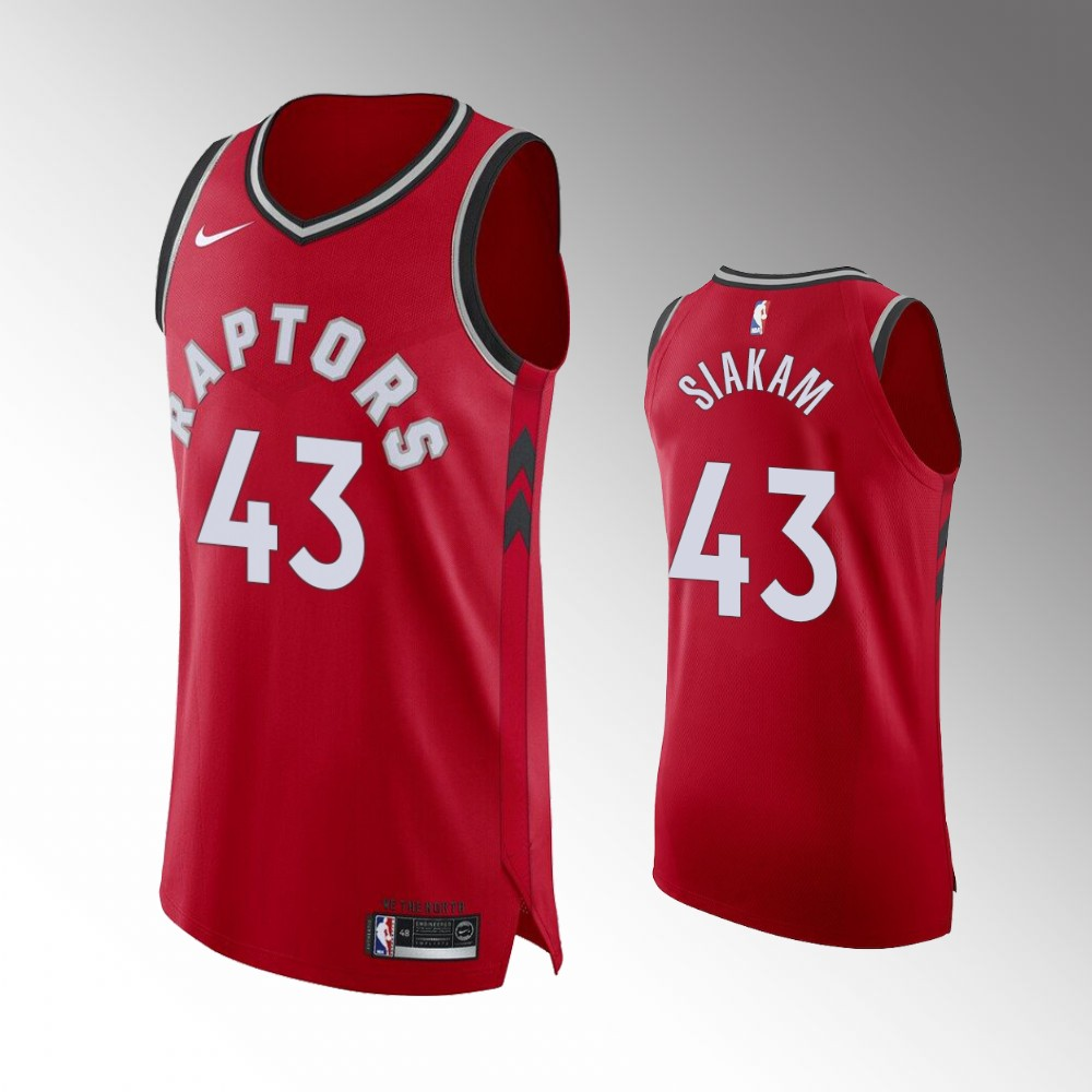 Pascal Siakam Toronto Raptors Red Icon Jersey